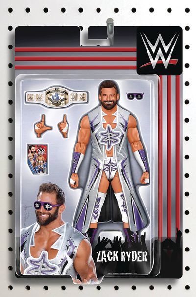 WWE #18 (Riches Action Figure Variant)