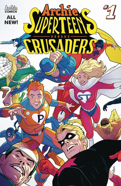 ARCHIES SUPERTEENS VS CRUSADERS! APR181312