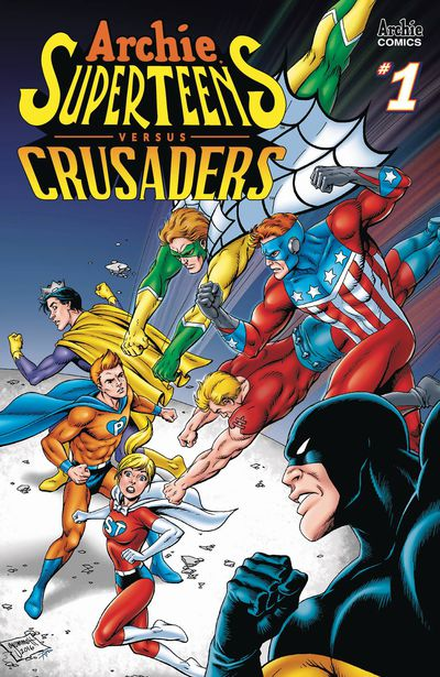 ARCHIES SUPERTEENS VS CRUSADERS! APR181313