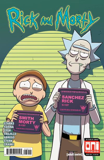 Rick & Morty #39 (Cover A)