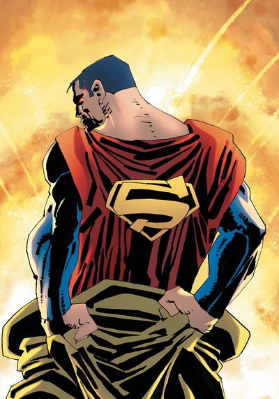 Superman Year One #1 (of 3) Miller Cover