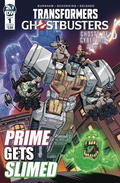 Transformers Ghostbusters #1 (Cover B - Roche)