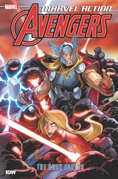 Marvel Action Avengers TPB Book 02 Ruby Egress