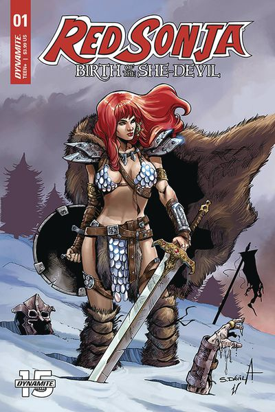 Red Sonja Birth of She Devil #1 (Cover B - Davila)