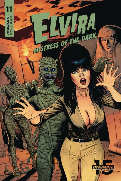 Elvira Mistress of Dark #11 (Cover B - Cermak)