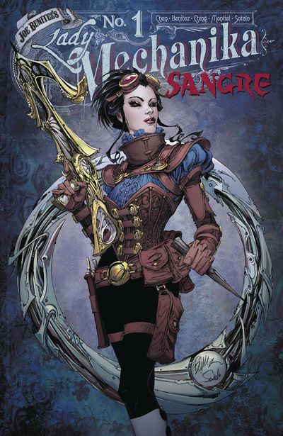 Lady Mechanika Sangre #1 (of 5) Main Cover