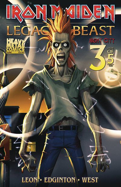 Iron Maiden Legacy O/T Beast Vol 2 Night City #3 (Cover A - Tbd)