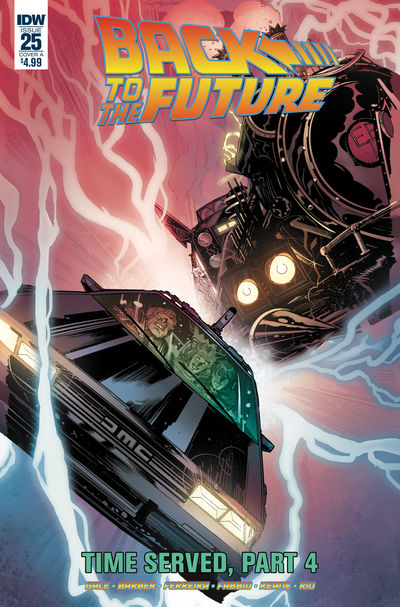 Back to the Future #25 (Cover A - Ferreira)