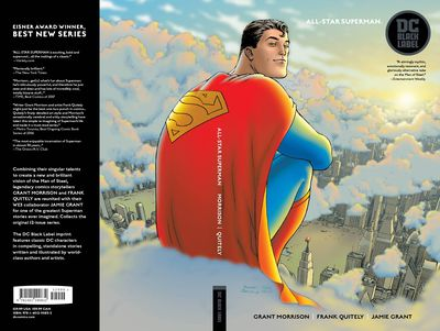 All Star Superman TPB Black Label