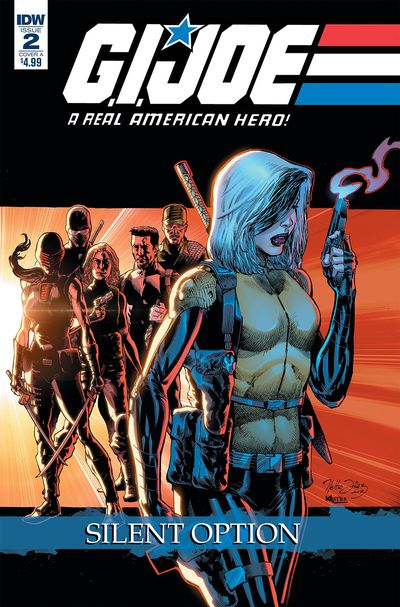 GI Joe a Real American Hero Silent Option #2 (of 4) (Cover A - Di)