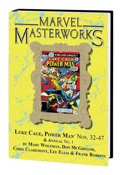 Marvel Masterworks Luke Cage Power Man HC Vol 03 Dm (Variant) 271