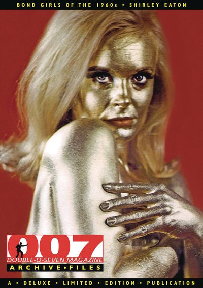 007 Mag Archive Presents Bond Girls 1960s Shirley Eaton