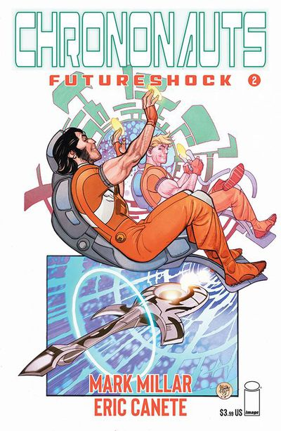 Chrononauts Futureshock #2 (of 4) (Cover A - Ferry)