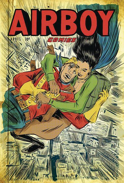 Airboy #51 (Cover D - Kindt)