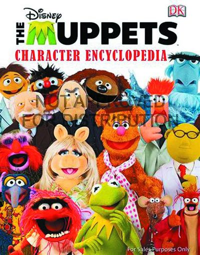 Disney Muppets Character Encyclopedia HC
