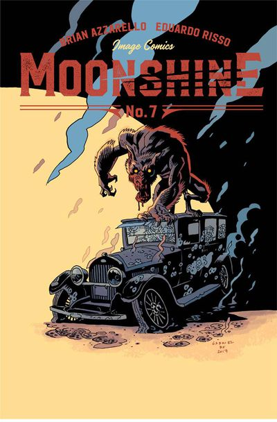 Moonshine #7 (Cover B - Ba)