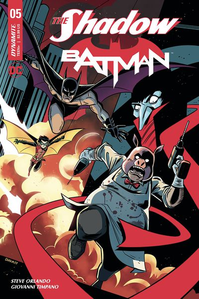 Shadow Batman #5 (of 6) (Cover C - Charm)
