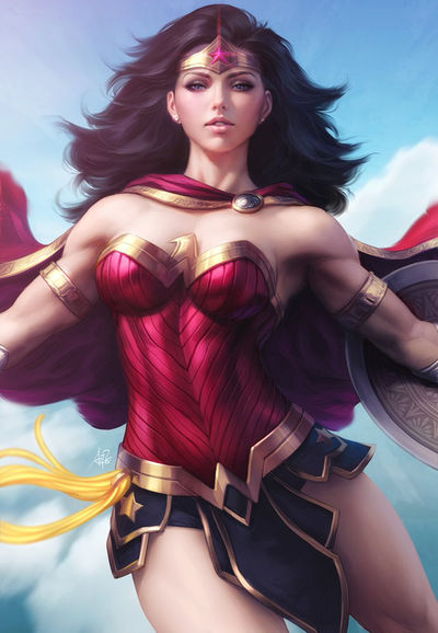 Wonder Woman #65 (Lau Variant)