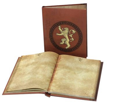 Game of Thrones House Lannister Sigil Light Up Notebook