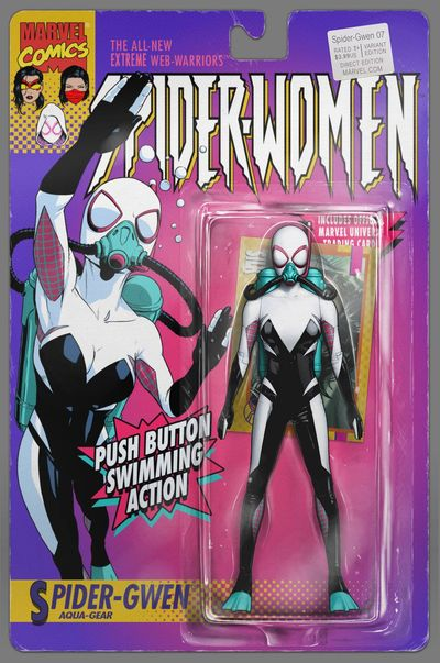 Gwenom Is A Thing Now Variant Cover Leads To Year Long