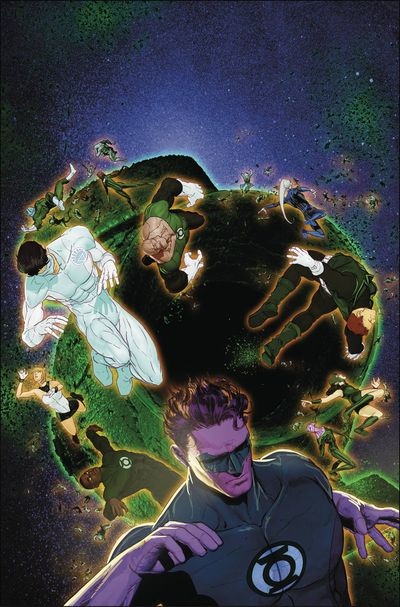 Hal Jordan and the Green Lantern Corps comics at TFAW.com
