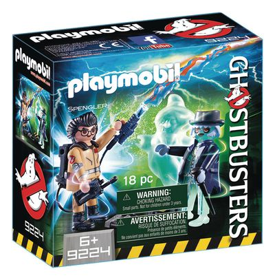 Playmobil Ghostbusters Spengler and Ghost Play-set
