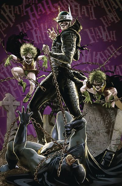 Batman Who Laughs #4 (of 6) (Andrews Variant)