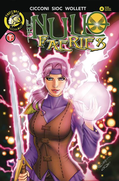 Null Faeries #4 (Cover B - Suhng)