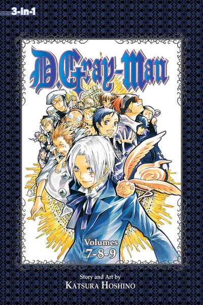 D Gray Man 3in1 TPB Vol. 03
