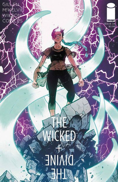 Wicked & Divine #34 (Cover B - Johnson & Spicer)