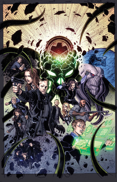 Infinity Countdown #1 (of 5) (Agents of Shield Road to 100 Variant)