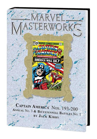 Marvel Masterworks Captain America HC Vol 10 Dm Var 262