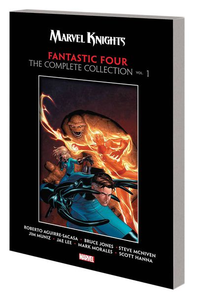 Marvel Knights Fantastic Four TPB Complete Collection Vol 01