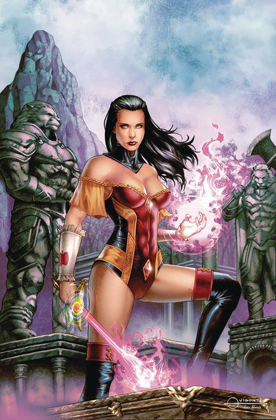 Grimm Fairy Tales #26 (Cover A - Vigonte)