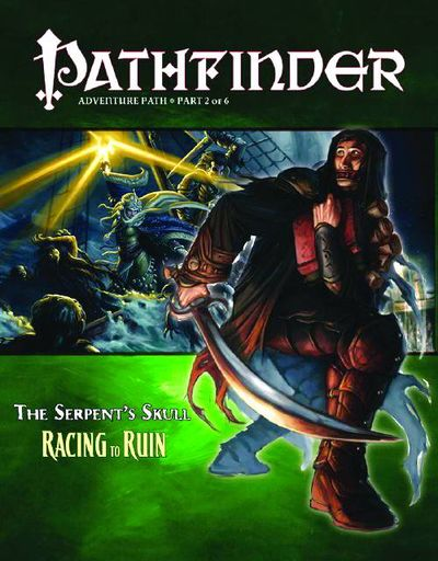 Pathfinder Adv Path Serpents Skull #2 (of 6) Racing Ruin