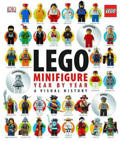 Lego Minifigure Year by Year Visual Chronicle