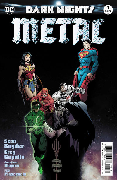 Dark Nights Metal #1 (of 6) (2nd Printing)