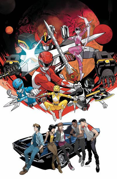 Go Go Power Rangers Back to School #1 Main