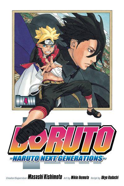 Boruto GN Vol 04 Naruto Next Generations @TFAW com