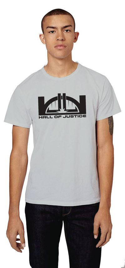 DC Hall of Justice Staff T-Shirt MED