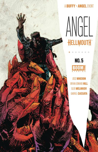 Angel #5 (Cover A - Main Panosian)