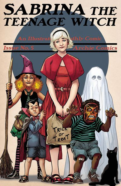 Sabrina Teenage Witch #5 (of 5) (Cover B - Erskine)