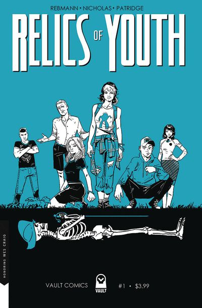 Relics of Youth #1 Cover B