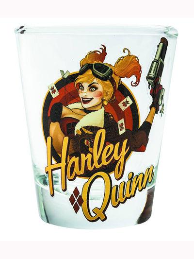 Toon Tumblers DC Bombshells Harley Quinn Mini Glass