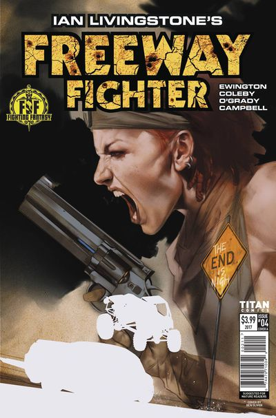 Ian Livingstone's Freeway Fighter #4 (of 4) (Cover A - Oliver)