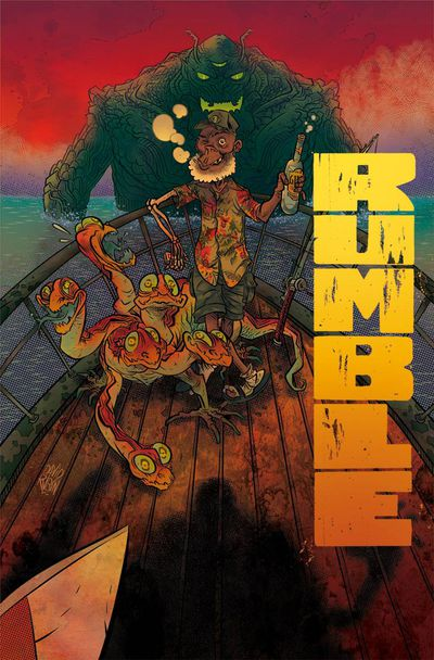 Rumble #6 (Cover A - Rubin)