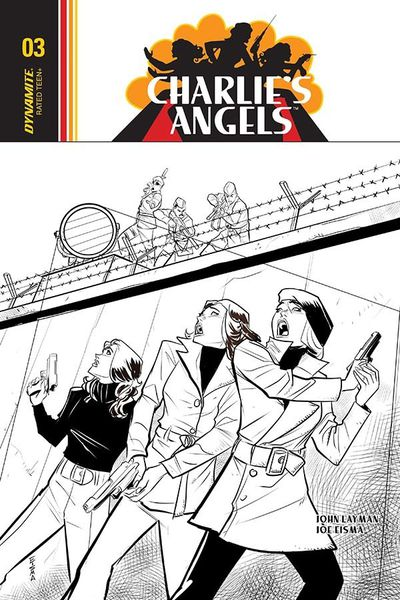 Charlies Angels #3 (Cover C - Retailer 10 Copy Incentive Variant)