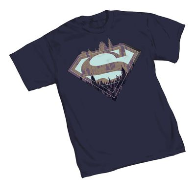 Superman City Symbol T-Shirt MED