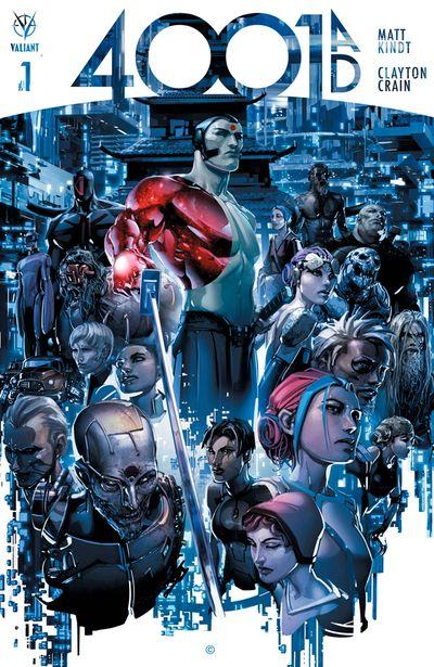 4001 A.D. comics at TFAW.com
