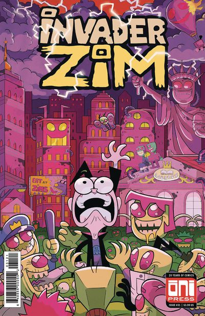 Invader Zim #31 (Cover B - Cousin Variant)